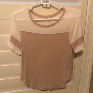 Pink and light pink t shirt